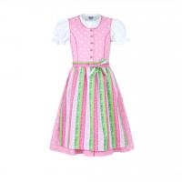 Kinder Dirndl rosa 92