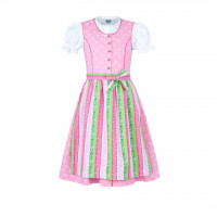 Kinder Dirndl rosa 104