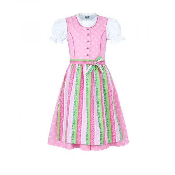 Kinder Dirndl rosa 152