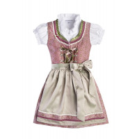 Kinderdirndl Suki rose 122/128
