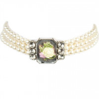 Halskette 3921 weiß one size