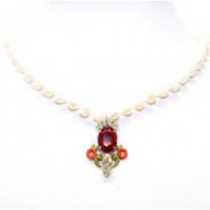 Halskette 3775-20 weiß one size