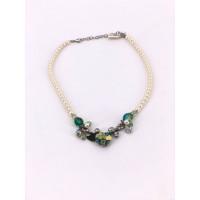 Halskette 3985-50 weiß one size