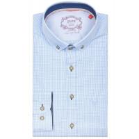Pure Hemd Tracht hellblau XL