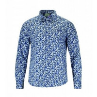 Bodo Muster dunkelblau xxl alpiner Lifestyle 100% Baumwolle