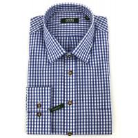 H-Hemd Kent blau 38 Tracht 100% Baumwolle