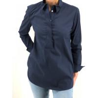 Bluse Almute blau 36