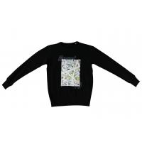 MASANI Sweatshirt Lines 19 schwarz M