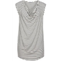 T-Shirts Anka grau/weiß S