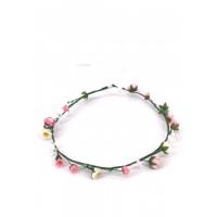 Blüten-Girlande Annalena rosa-weiß