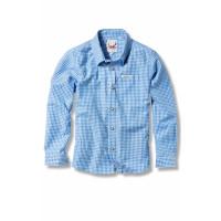 Dave Kinderhemd blau  122/128