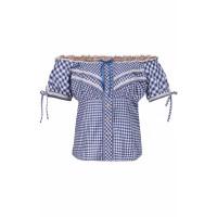 Bluse Stocka blau 40
